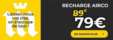 Recharge Airco 79€