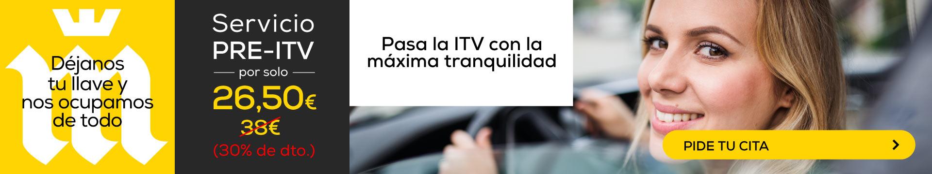 PASA TU ITV SIN PROBLEMAS...CON LA PRE-ITV DE MIDAS